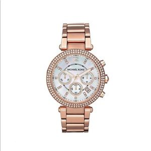 Ladies Michael Kors Parker Chronograph Watch